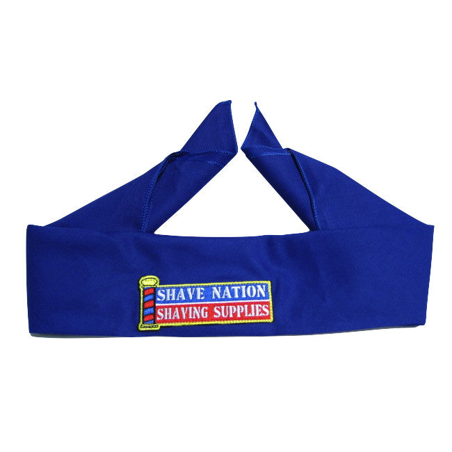 Shave Nation Bandanna Blue