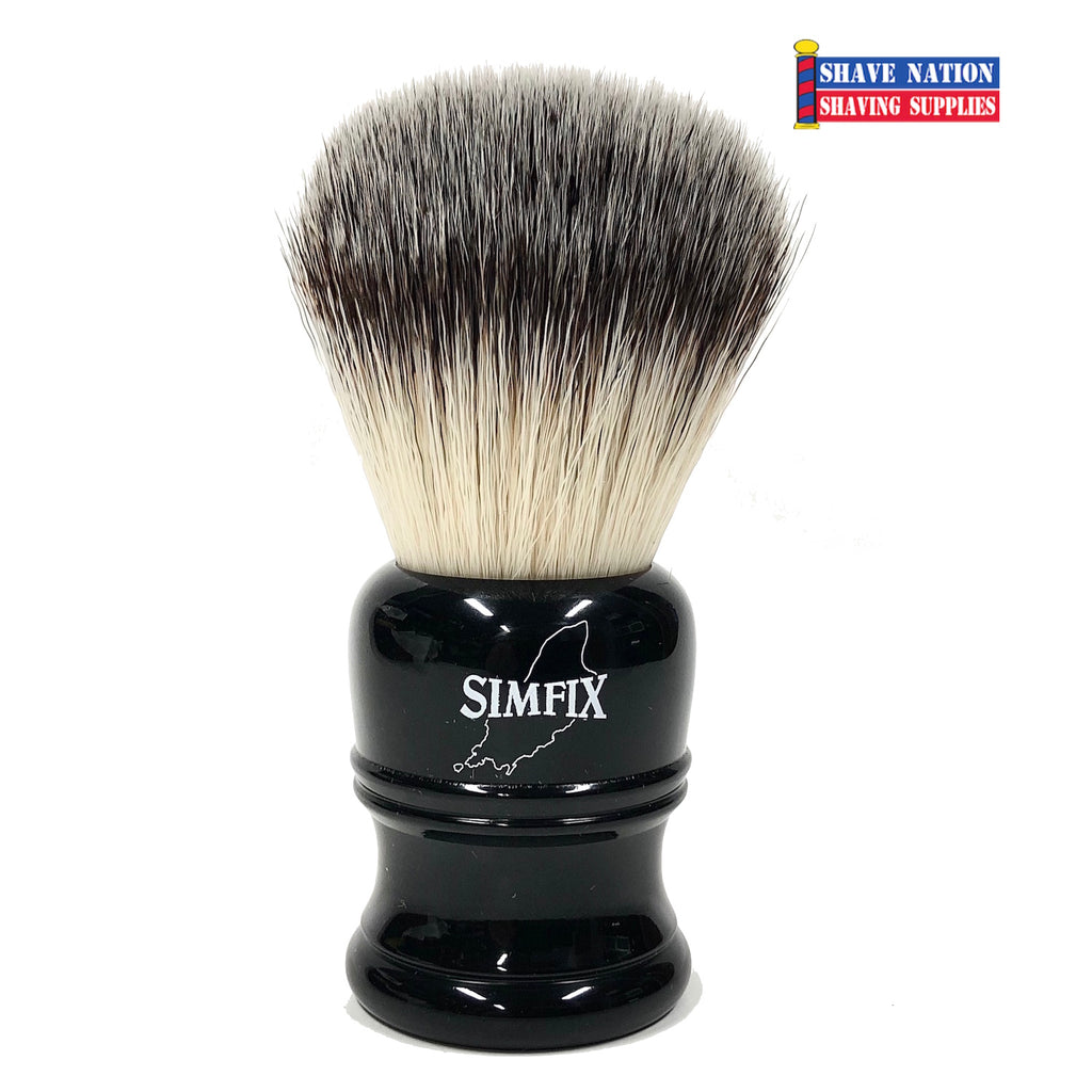 Simpsons SIMFIX Synthetic Bristle Shaving Brush