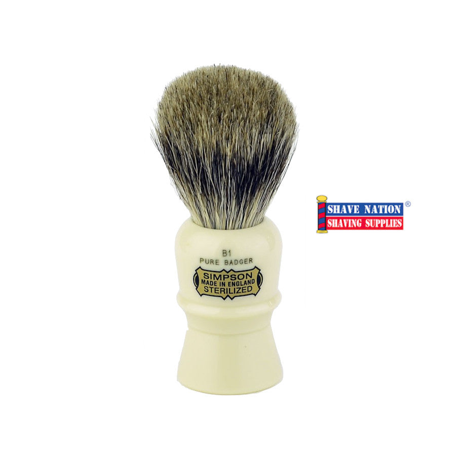 Simpsons Beaufort B1 Pure Badger Brush