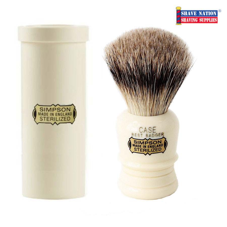 Simpsons CASE Best Badger Brush with Travel Case