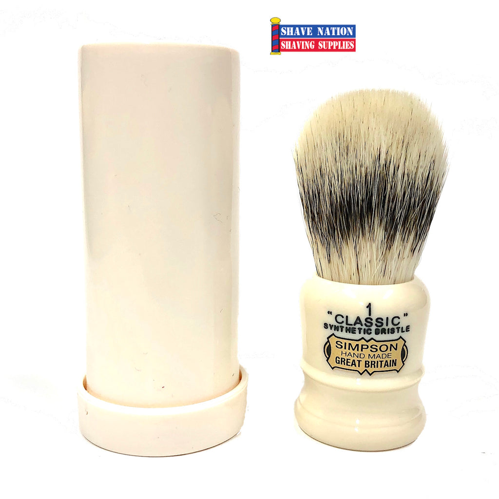Simpsons Classic C1 Brush with Travel Tube