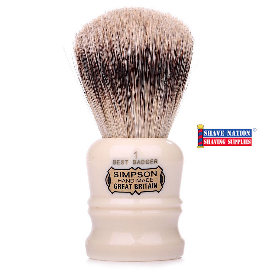 Simpsons Duke D1 Best Badger Brush