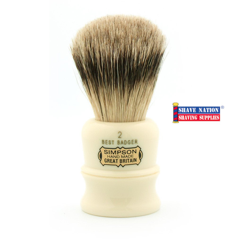 Simpsons Duke D2 Best Badger Brush