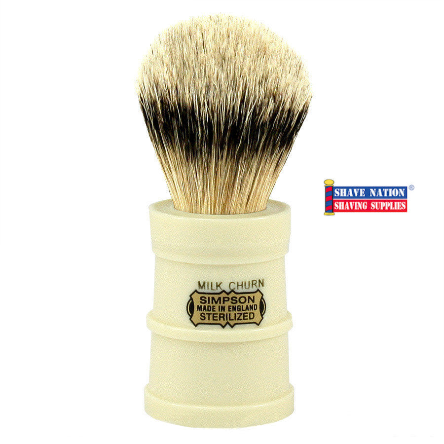 Simpsons Milk Churn Best Badger Brush