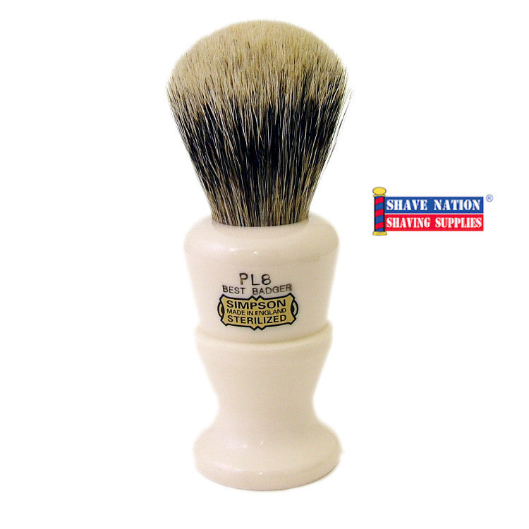 Simpsons Polo PL8 Best Badger Brush