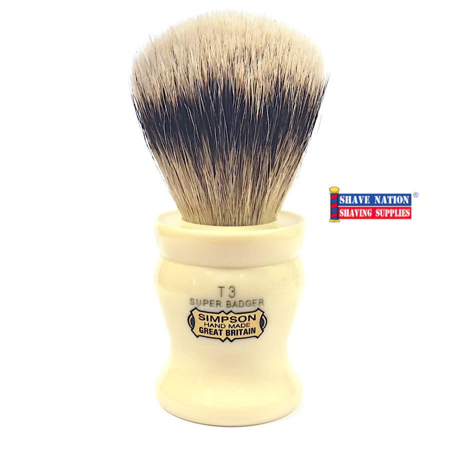 Simpsons Tulip 3 Super Badger Brush