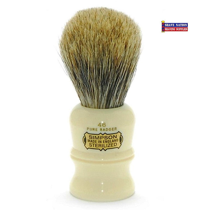 Simpsons Berkeley 46 Pure Badger Brush