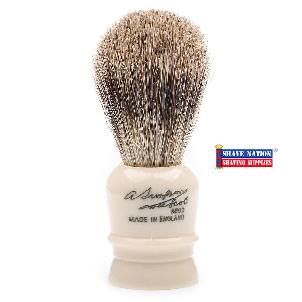 Simpsons Wee Scott Best Badger Brush