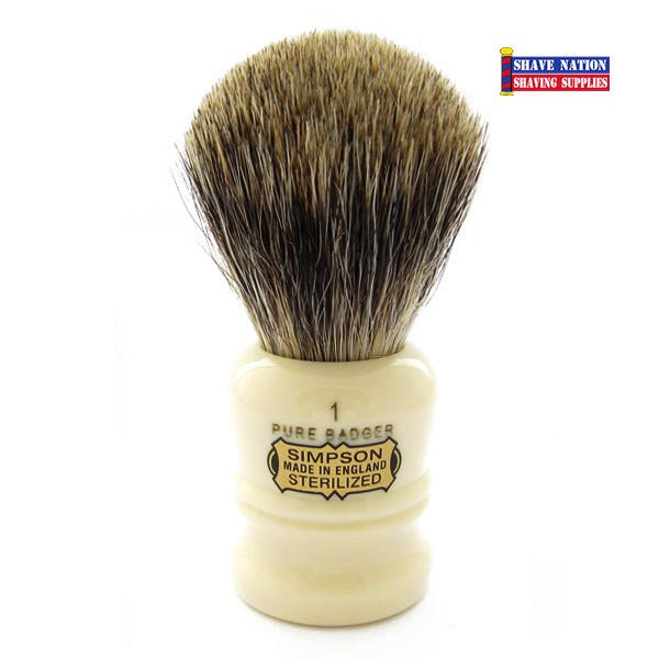 Simpsons Duke D1 Pure Badger Brush