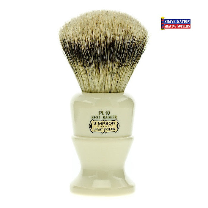 Simpsons Polo PL10 Best Badger Brush