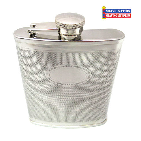 Stainless Flask Basket Weave 6oz