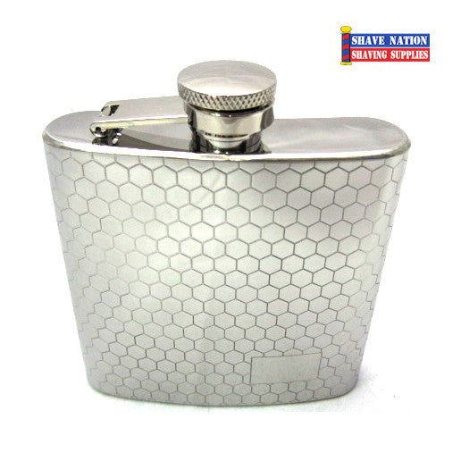 Stainless Flask Honey Comb 6oz