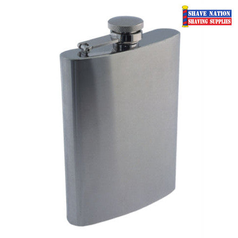 Stainless Flask Satin/Matte 9oz