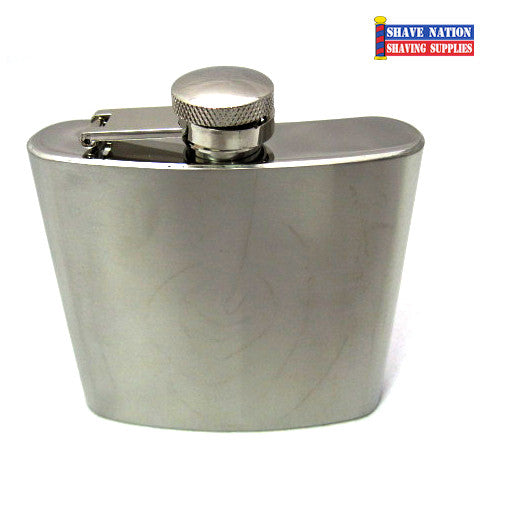 Stainless Flask Satin/Matte 6oz