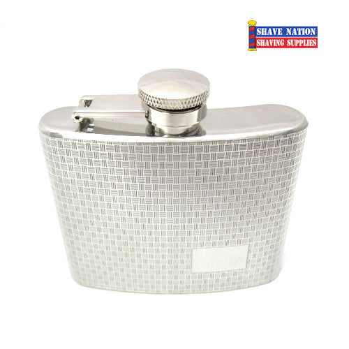 Stainless Steel Flask Woven 5oz