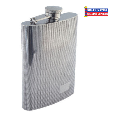 Stainless Flask Diamond Finish 9oz