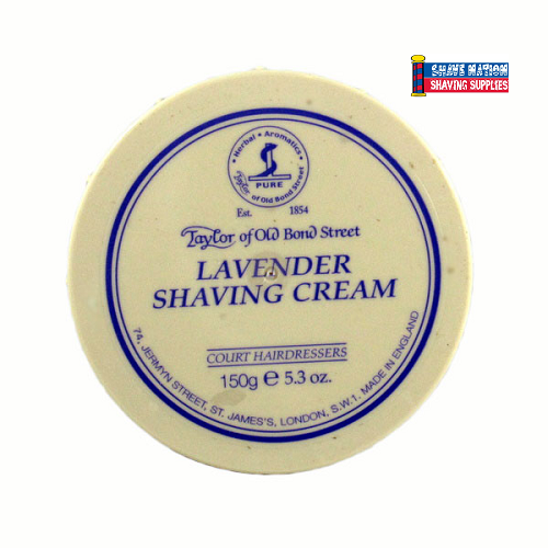 Taylor of Old Bond Street Shaving Cream Jar Lavender