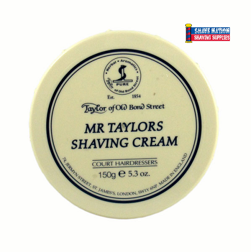 Taylor of Old Bond Street Shaving Cream Jar Mr Taylors
