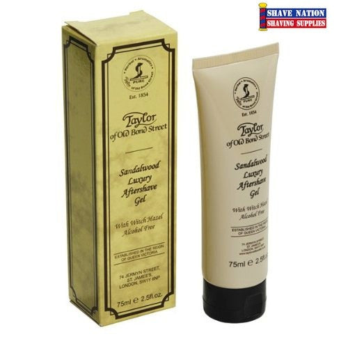 Taylor of Old Bond Street Sandalwood Luxury Aftershave Gel