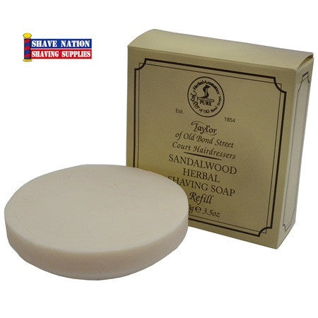 Taylor of Old Bond Street Shaving Soap Refill Sandalwood