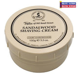 Taylor of Old Bond Street Shaving Cream Jar Sandalwood
