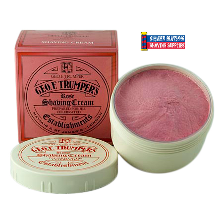 Geo F Trumper Shaving Cream Rose