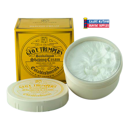 Geo F Trumper Shaving Cream Sandalwood