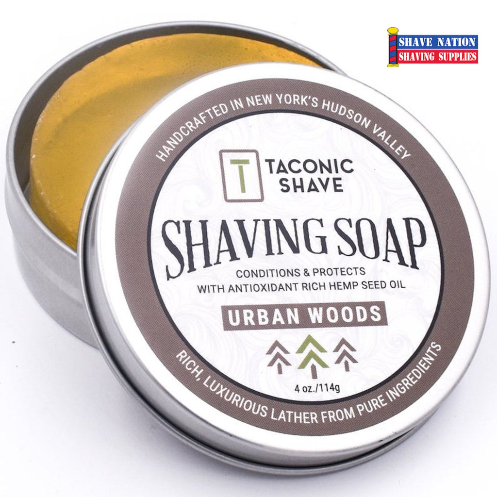 Taconic Urban Woods Shaving Soap Tin