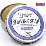 Taconic Lavender Shaving Soap Tin