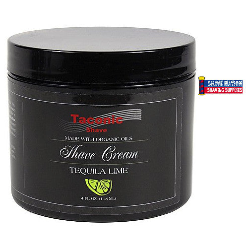 Taconic Tequila Lime Shave Cream