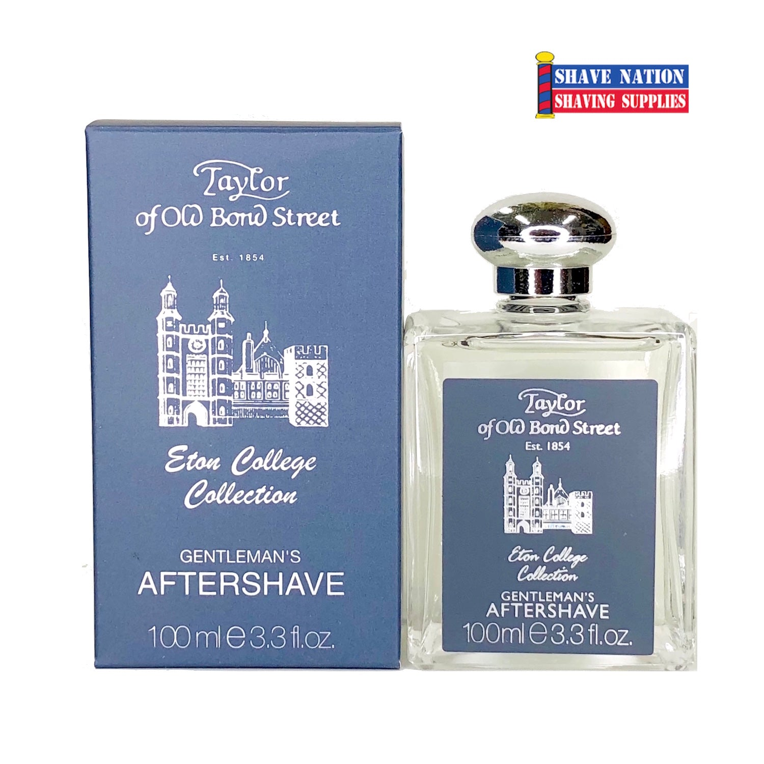 Taylor of Old Bond Street Eton College Gentleman's Aftershave