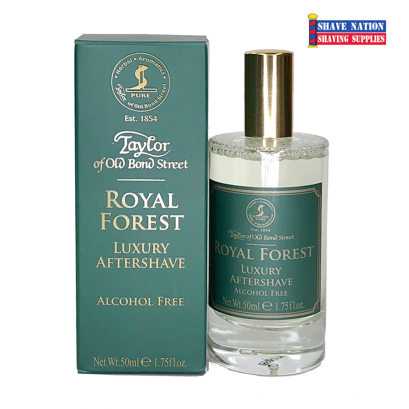 Taylor of Old Bond Street Royal Forest Luxury Aftershave (Alcohol Free)