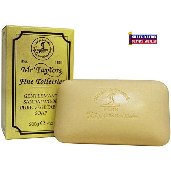 Taylor of Old Bond Street Sandalwood Bar Soap