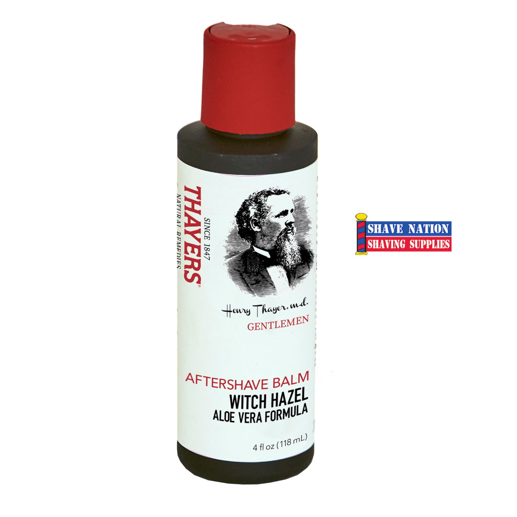 NEW! Thayers Gentlemen's Aftershave Balm