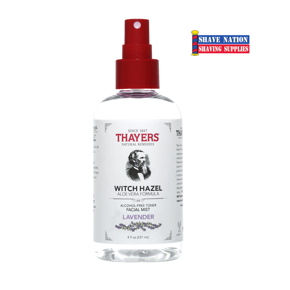 Thayers Alcohol Free Lavender Witch Hazel Toner Facial Mist Spray
