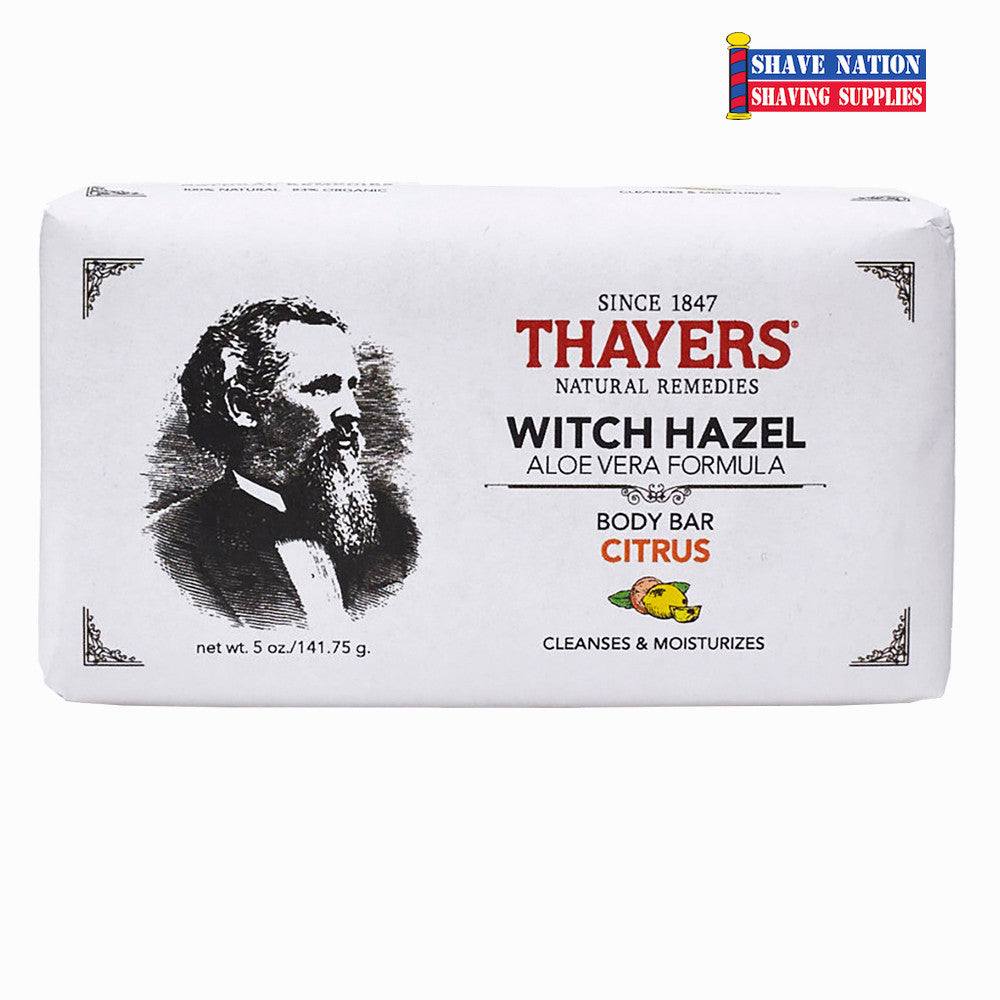 Thayers Citrus Body Bar Soap