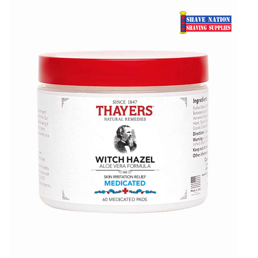 Thayers Witch Hazel Medicated Pads