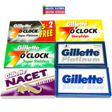 The Gillette Set DE Blade Sampler Pack