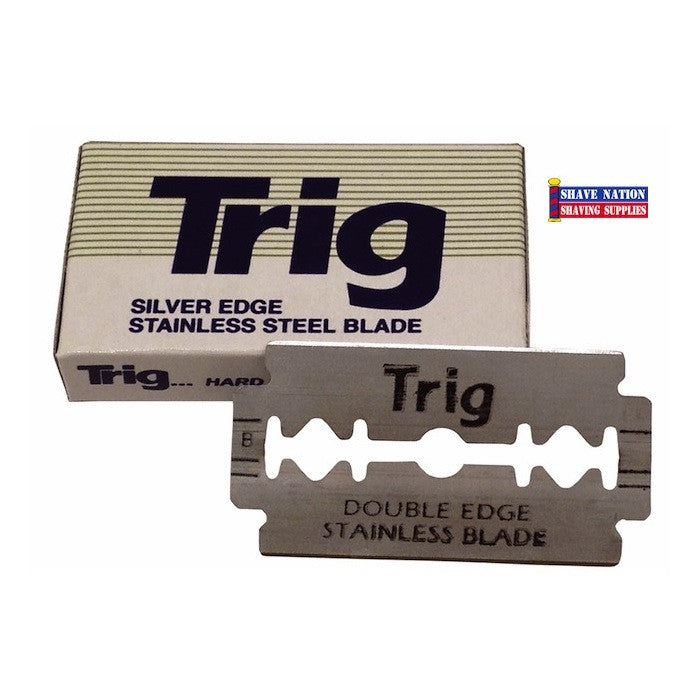Trig Stainless Steel DE Blades 10Pk