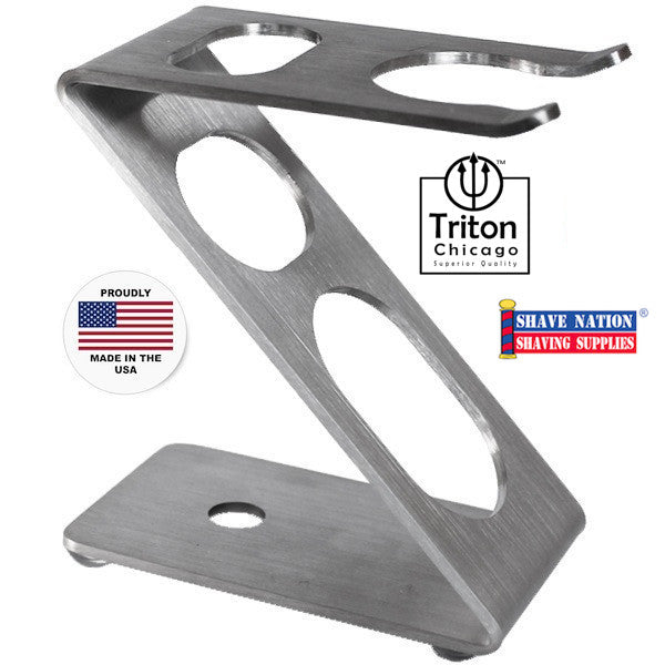 Triton Chicago Z Razor & Brush Stand