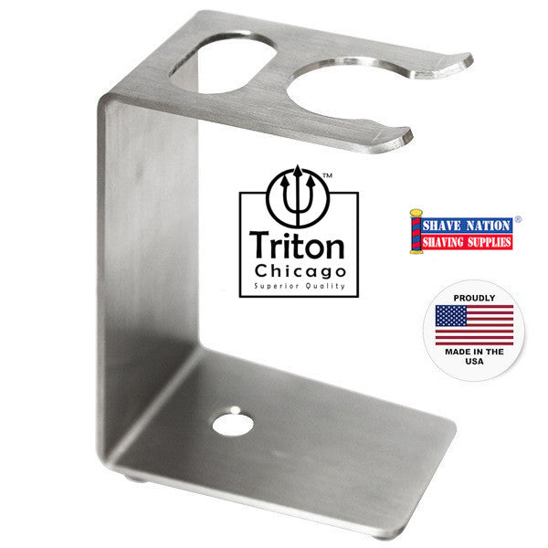 Triton Chicago Brush & Razor Stand