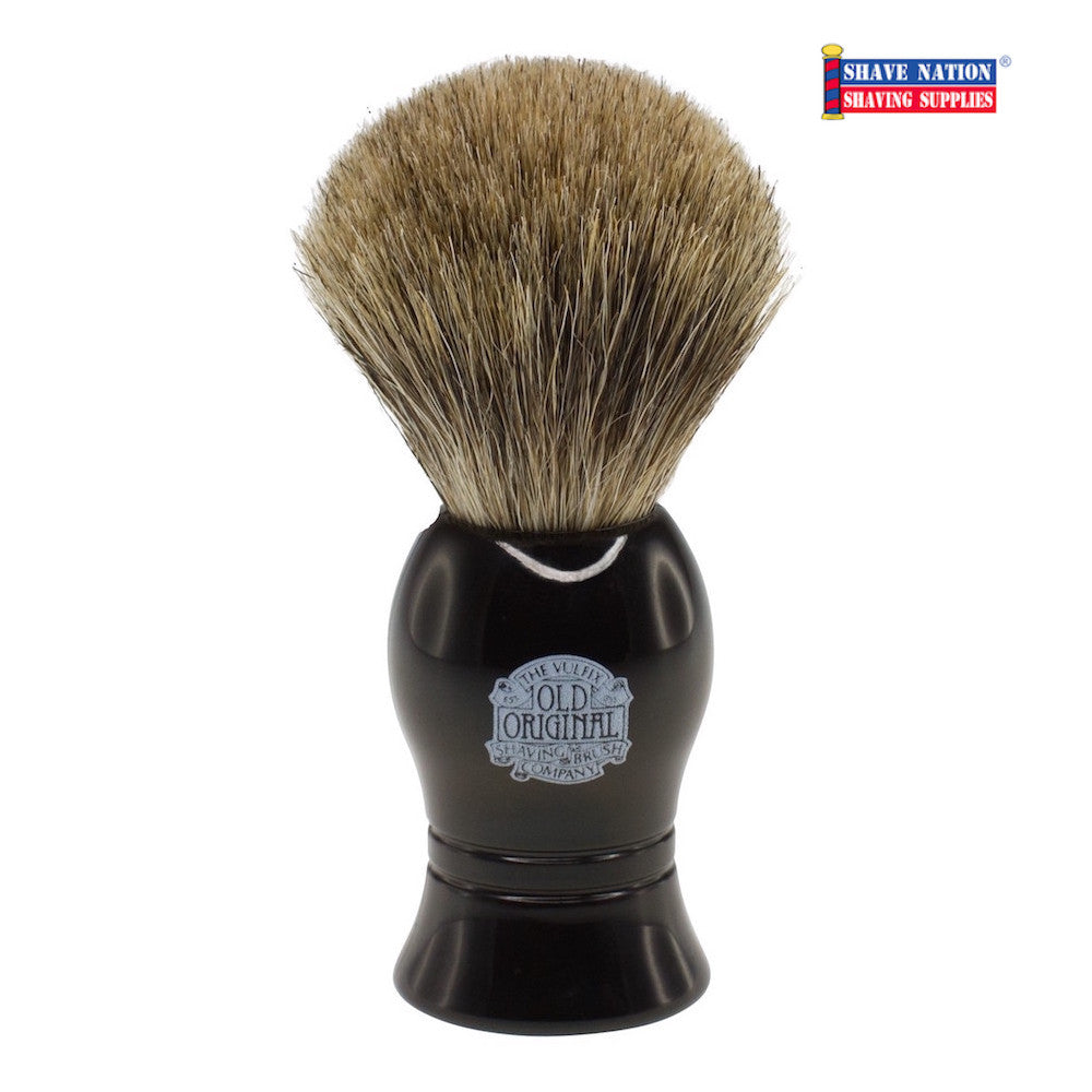 Vulfix Progress Badger & Boar Brush Black Handle