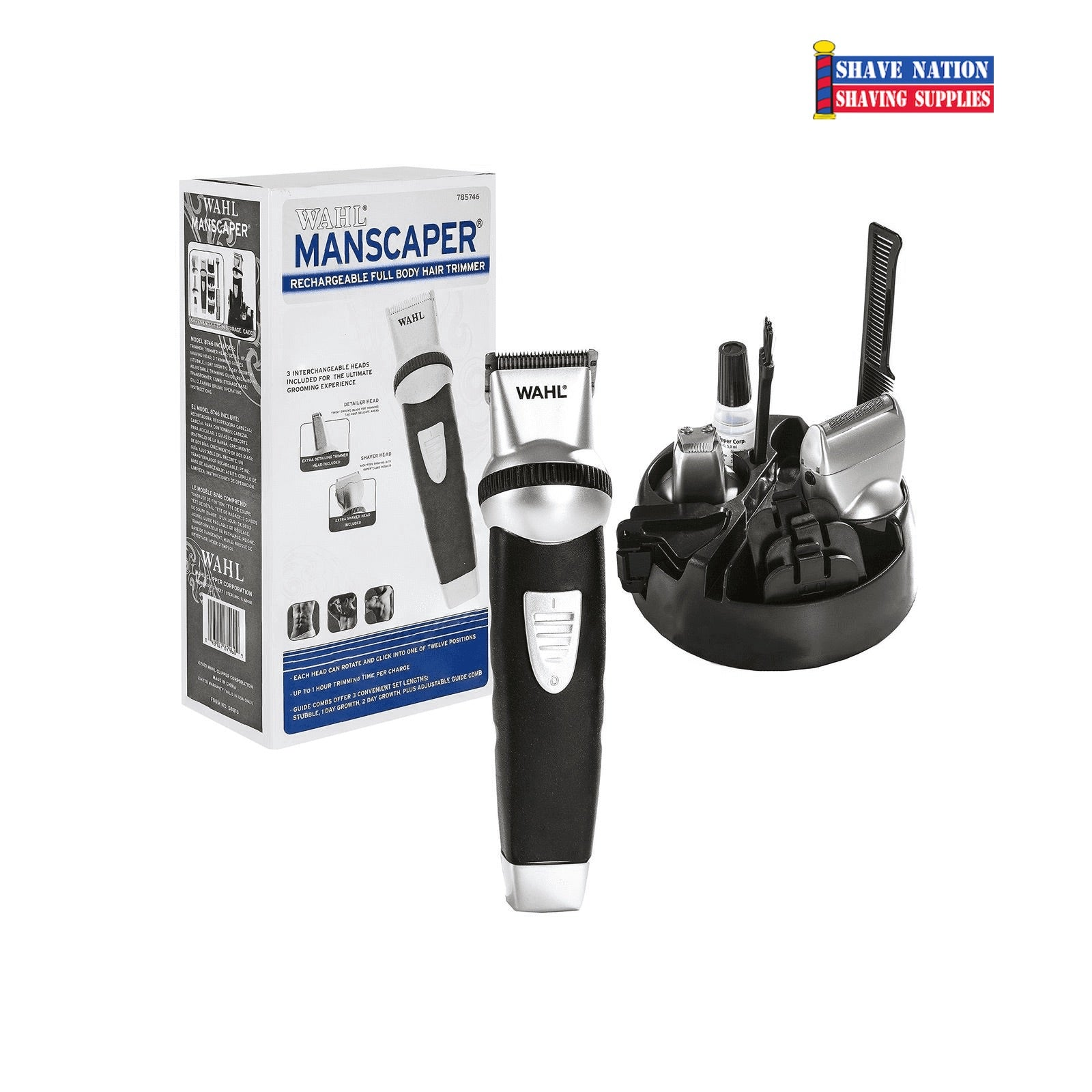 Wahl Manscaper Full Body Trimmer