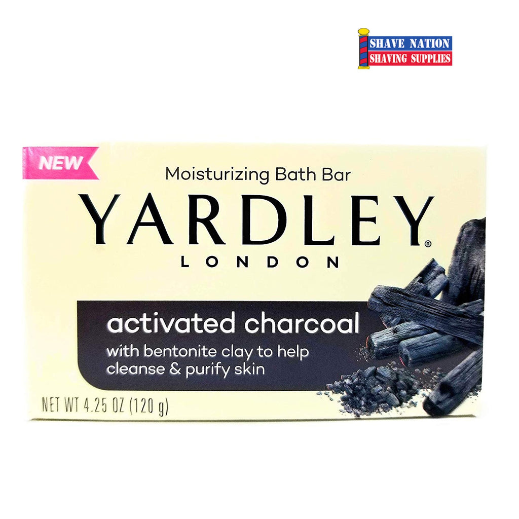Yardley Activated Charcoal Bar Soap