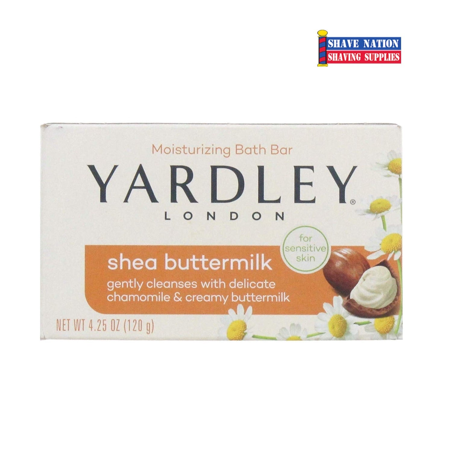 Yardley Shea Buttermilk Bar Soap