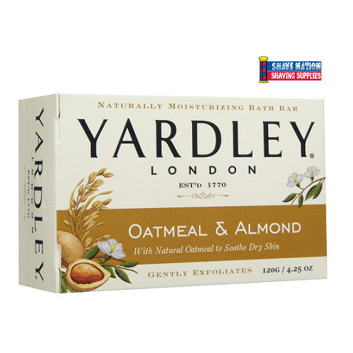 Yardley Bar Soap Oatmeal & Almond