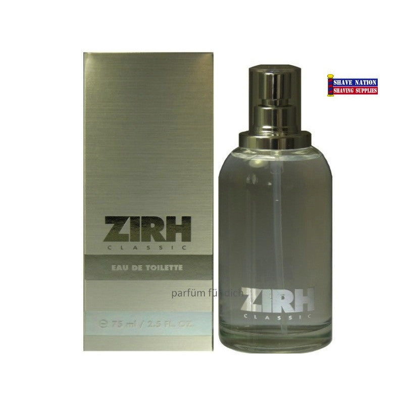 ZIRH CLASSIC Eau De Toilette Spray 2.5oz