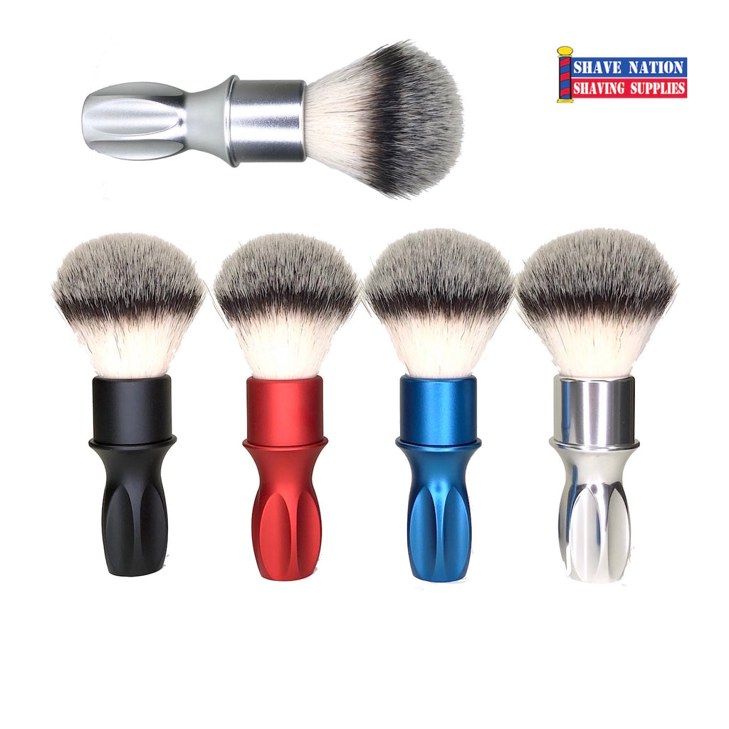 Alpha T400 24mm Synthetic Brush with Aluminum Handle