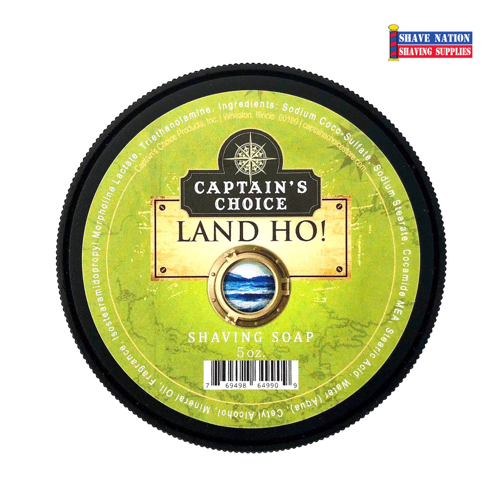 Captain's Choice Shaving Soap - Land Ho!