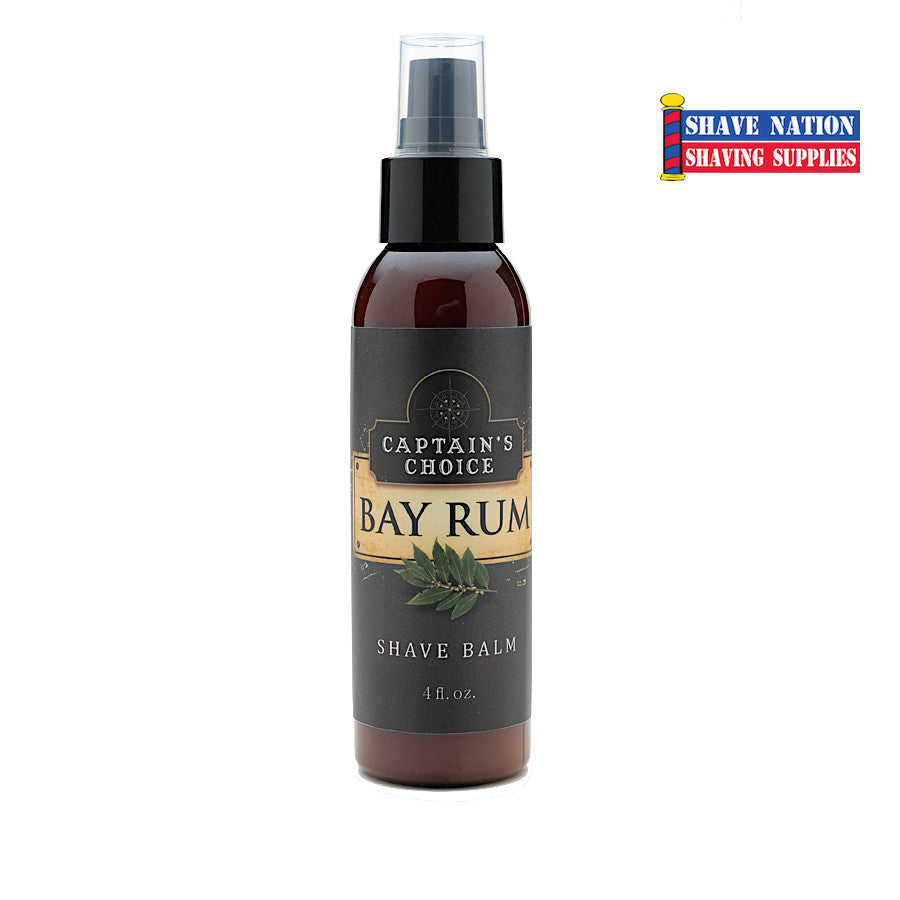 Captain's Choice After Shave Balm - Bay Rum